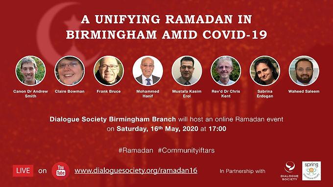 A Unifying Ramadan in Birmingham amid Covid-19