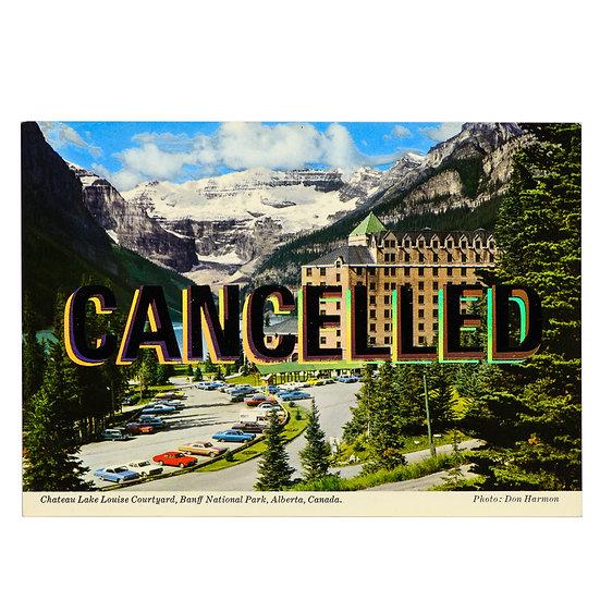 Foiled Post Card - Chateau (2020)