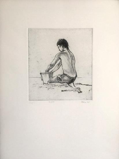 Boy on the beach (2011)