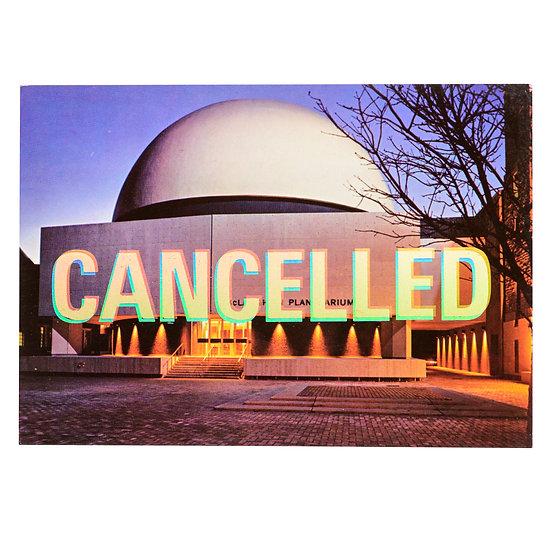 Foiled Post Card - Planetarium (2020)
