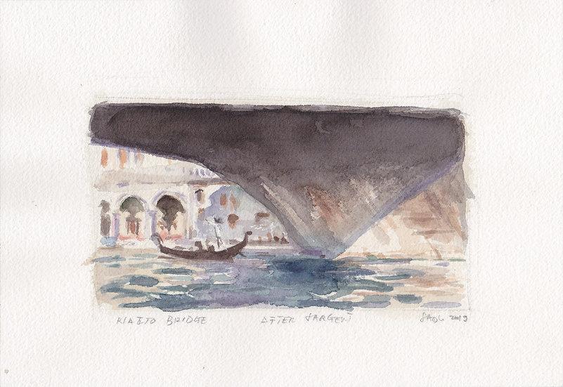 Venice, after Sargent (2019)