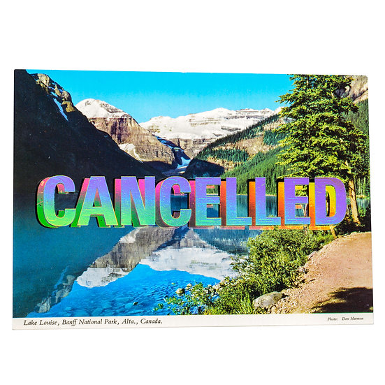 Lake Louise - Foiled post card