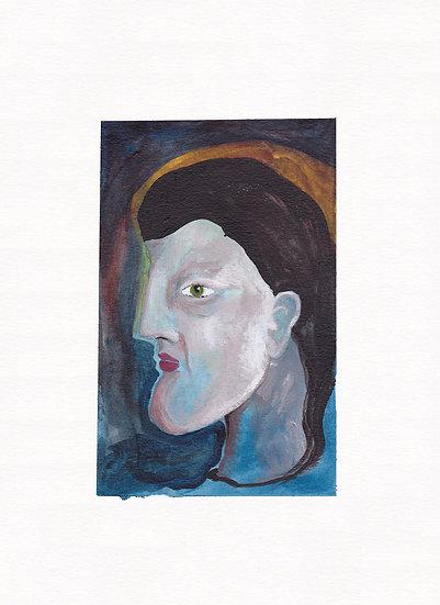 Blue profile (2021)