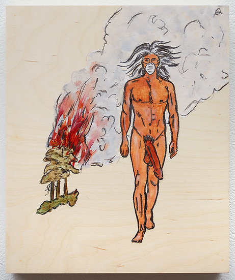 Naked Napi Smoke Signals (2019)