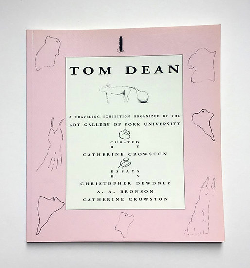 Tom Dean (AGYU, 1992)  (signed)