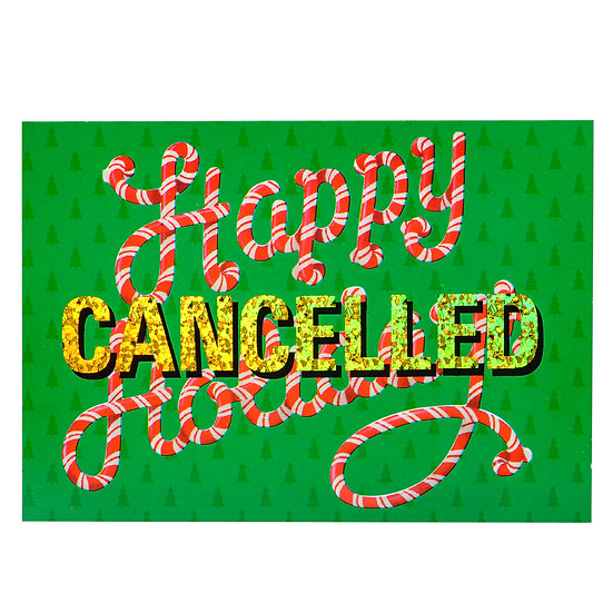 Foiled Post Card - Holidays (2020)