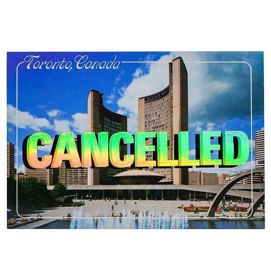 City Hall - Foiled post card