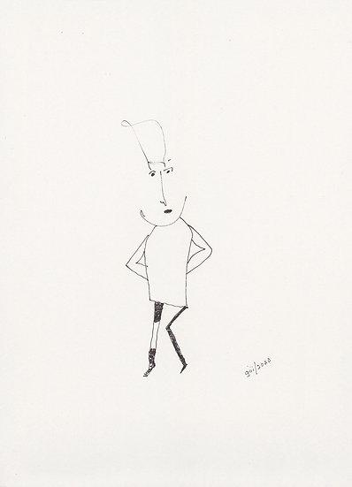 Untitled (Caricature) (2020)