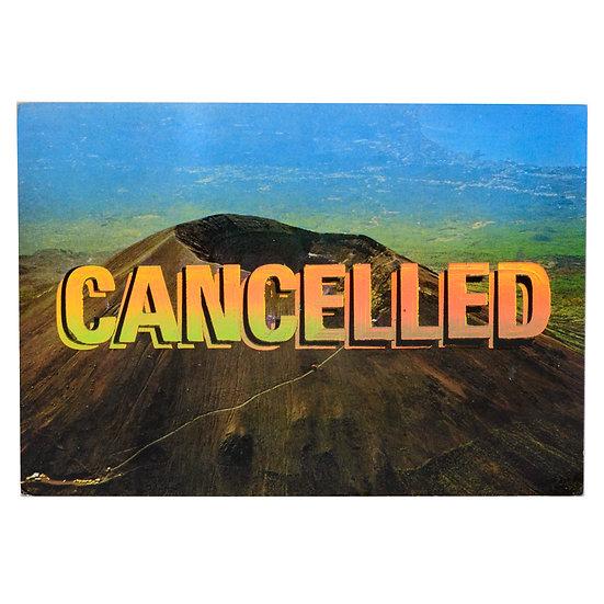 Foiled Post Card - Vesuvio (2020)