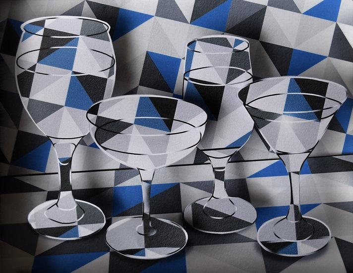 Glass & Water Study (C) (2020)