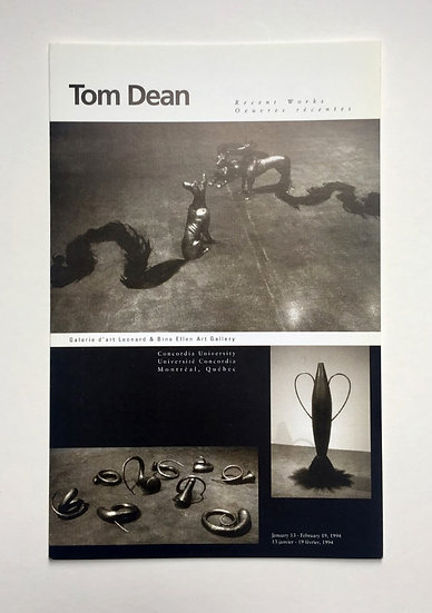 Tom Dean: Oeuvres Récentes / Recent Works (1994)
