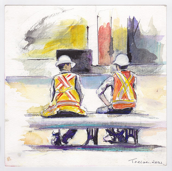 Construction workers (2021)
