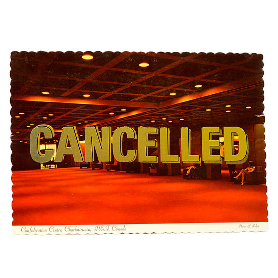 Foiled Post Card - Confederation Centre (2020)