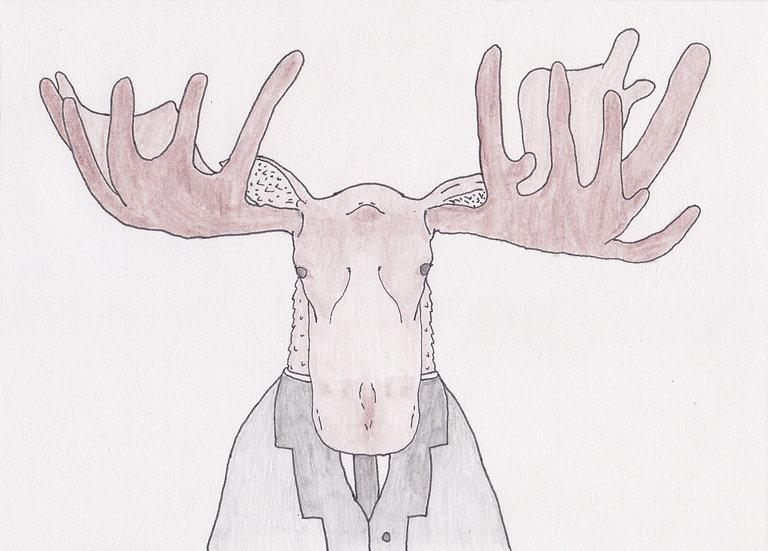 Untitled (Moose)  (2020)