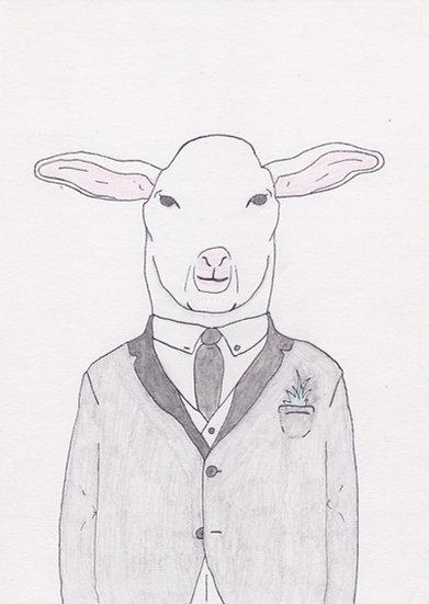 Untitled (Sheep)  (2020)