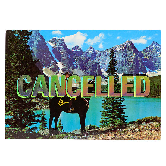 Foiled Post Card - Mountie (2020)