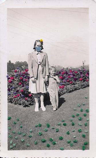 Full bloom in mask (2020)
