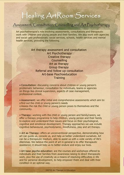 藝術心理治療│輔導與教育 Art therapy Art studio Healing artroom Hong Kong