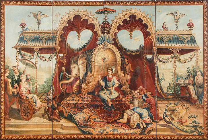 18th Century Chinoiserie Tapestry