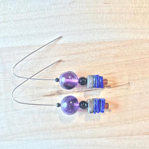 LILAC Slide Earrings
