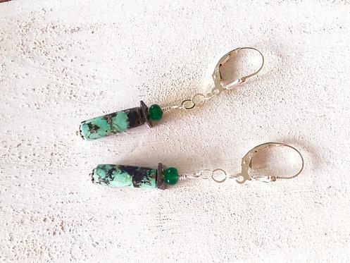 ANGELA Tube Earrings