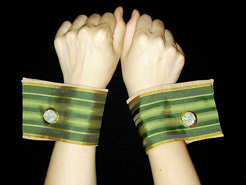 DREW Textile or Leather French Cuff Set