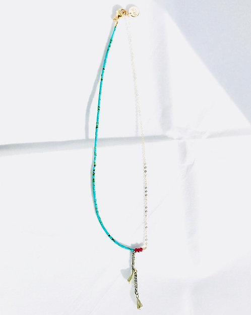 ELLE asymmetric necklace