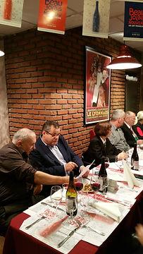 Compagnons du Beaujolais - Devoir Auvergnat - Bouchon de Jaude - 21.11.2014  - 1