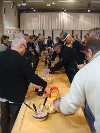 Compagnons du Beaujolais - Devoir Auvergnat - Issoire - 29.11.2014 - 2