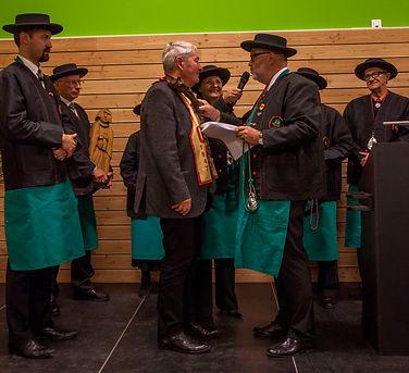 Compagnons du Beaujolais - Devoir Auvergnat - 16ème chapitre Paléopolis à Gannat - 22.11.2014 - 8