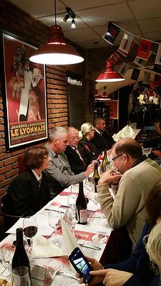 Compagnons du Beaujolais - Devoir Auvergnat - Bouchon de Jaude - 21.11.2014  - 11