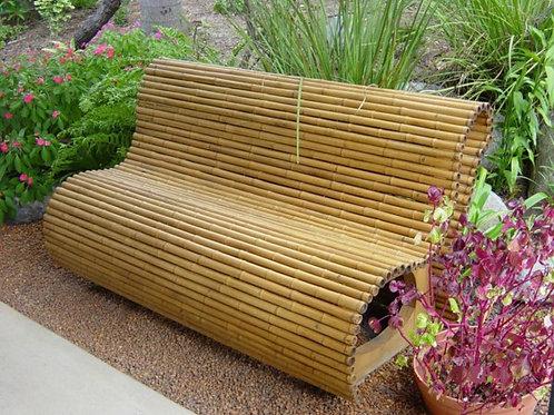 Bamboo Bench Garden