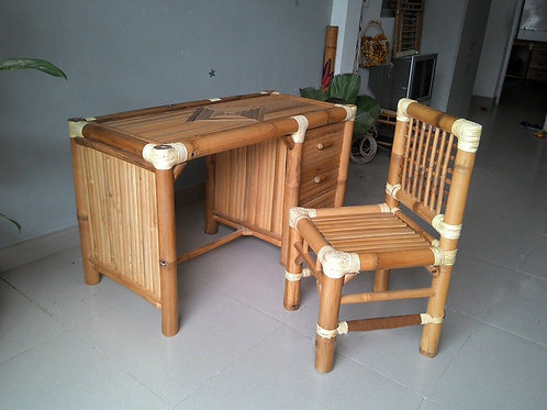 Bamboo Desk Work