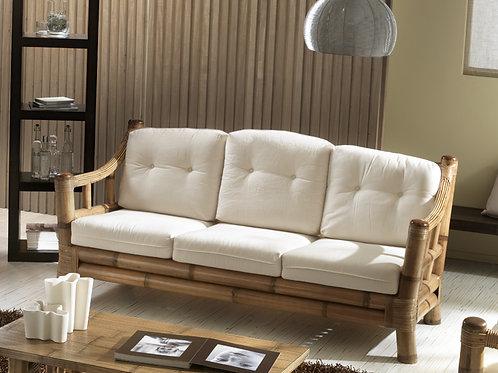 Bamboo Long Sofa Tres