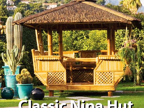 Bamboo Gazebo Classic Nipa