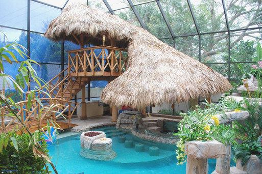 Palm Thatch Roof Uses