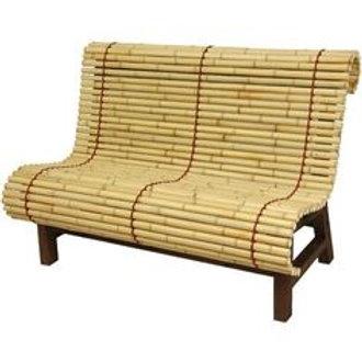 Bamboo Bench Couple