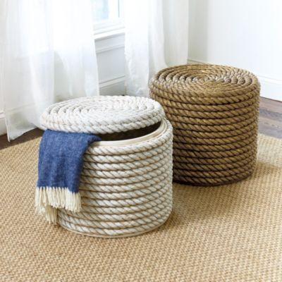 Manila | Abaca Rope Laundry Basket