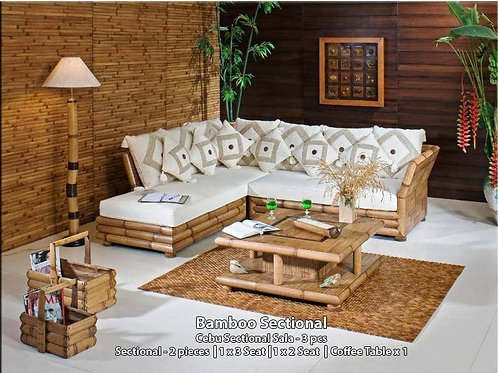 Bamboo Sectional