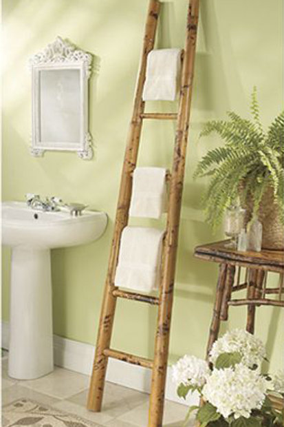 Bamboo Towel Hanger