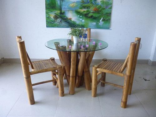 Bamboo Dining Set Samar