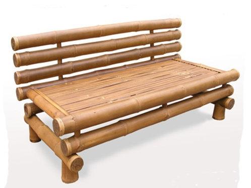 Bamboo Bench Zen