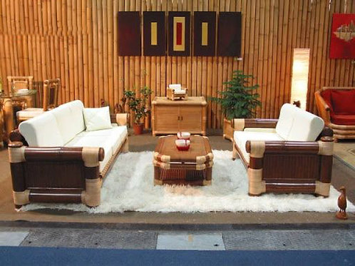 Bamboo Sofa Set Luzon