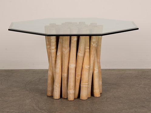 Bamboo Table Hexagon