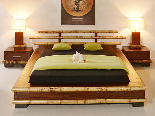 Bamboo Bed Negros