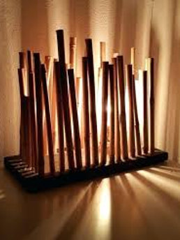 Bamboo Decorative Lamp