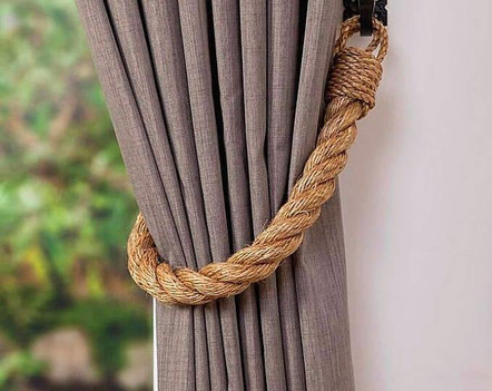 Manila | Abaca Rope Curtain Tie