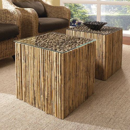 Bamboo Table Cube