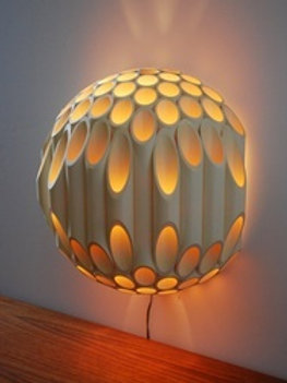 Bamboo Sconce Lamp