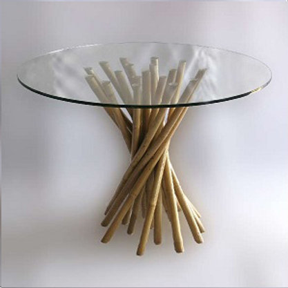 Bamboo Table Spiral